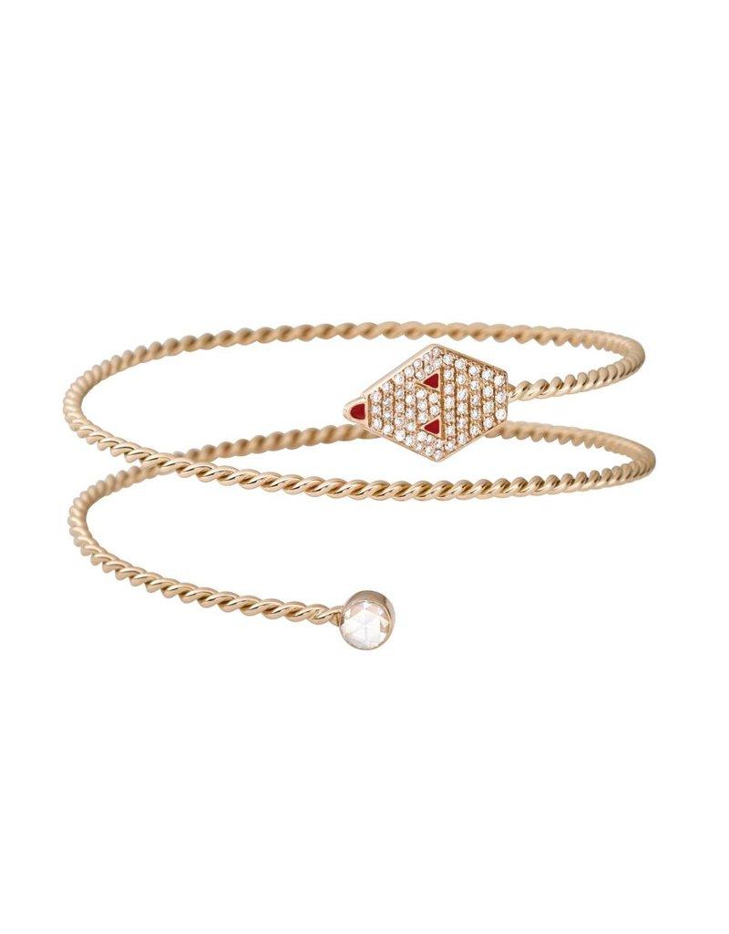 Misahara Drina Double Coil Bracelet