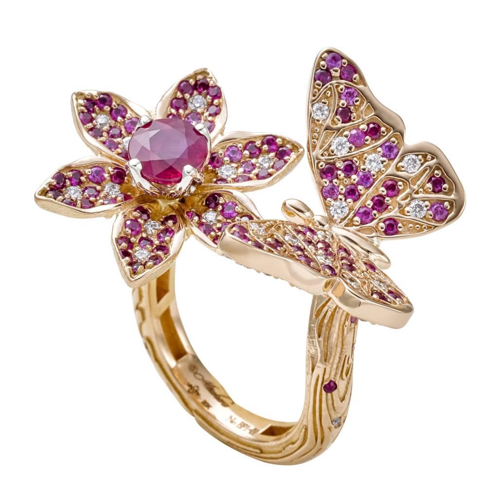 Misahara Petal Butterfly (Pink)