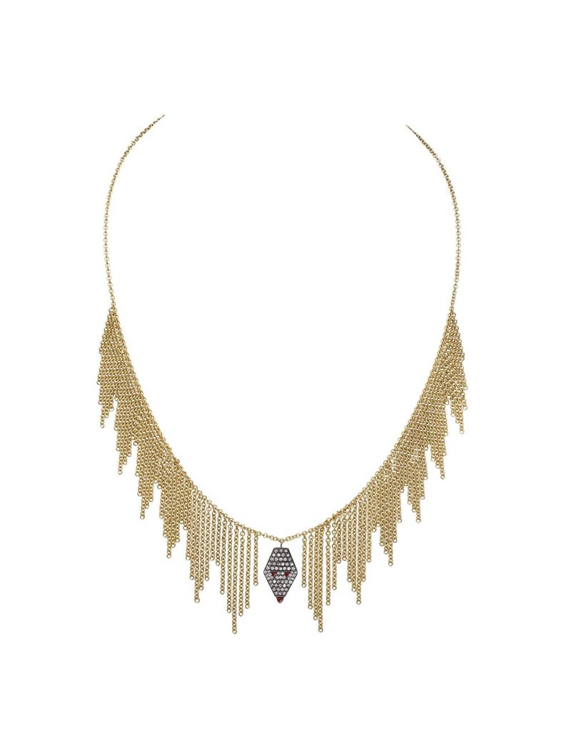 Drina Waterfall Necklace