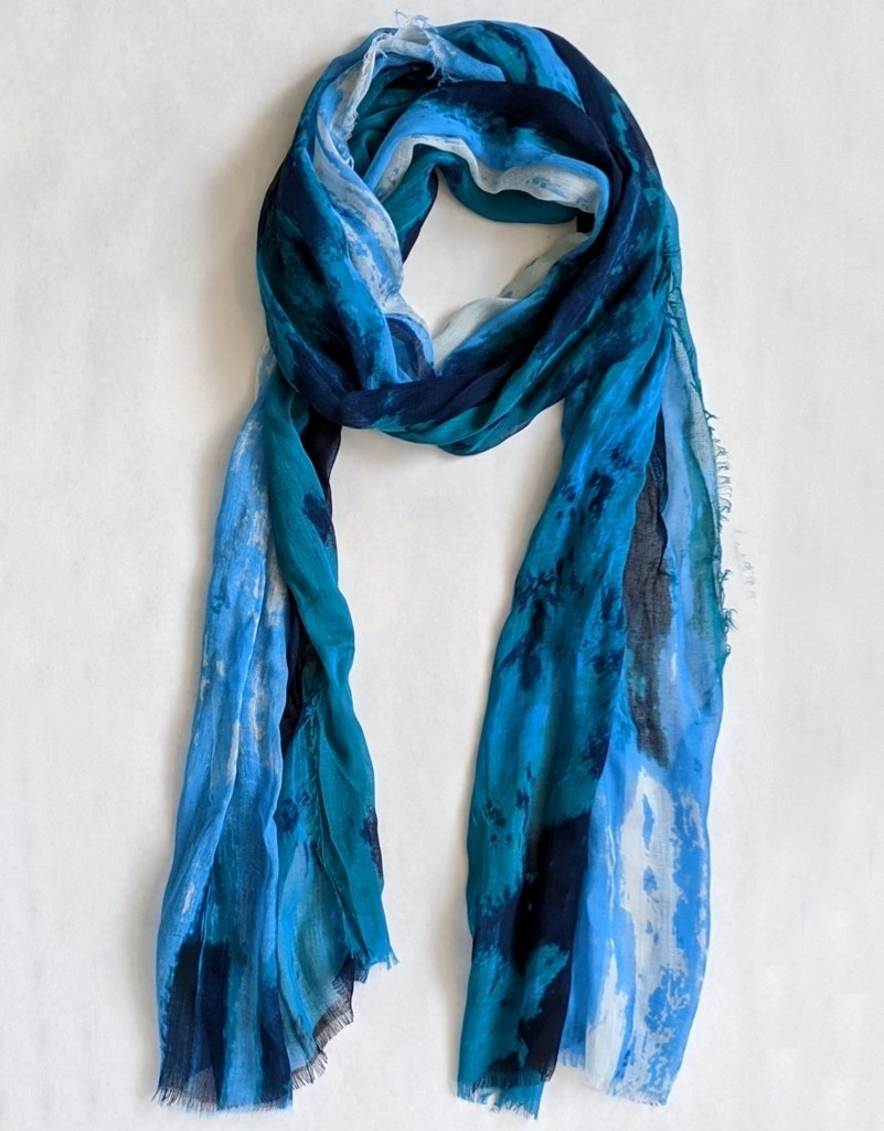 Blue Pacific Blue Pacific Scarves - Silk and Cashmere Blend