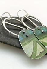 Grace Hogan Jewelry Grace Hogan earrings vintage tin