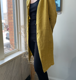 Inizio: French Linen Inizio Pera Jacket