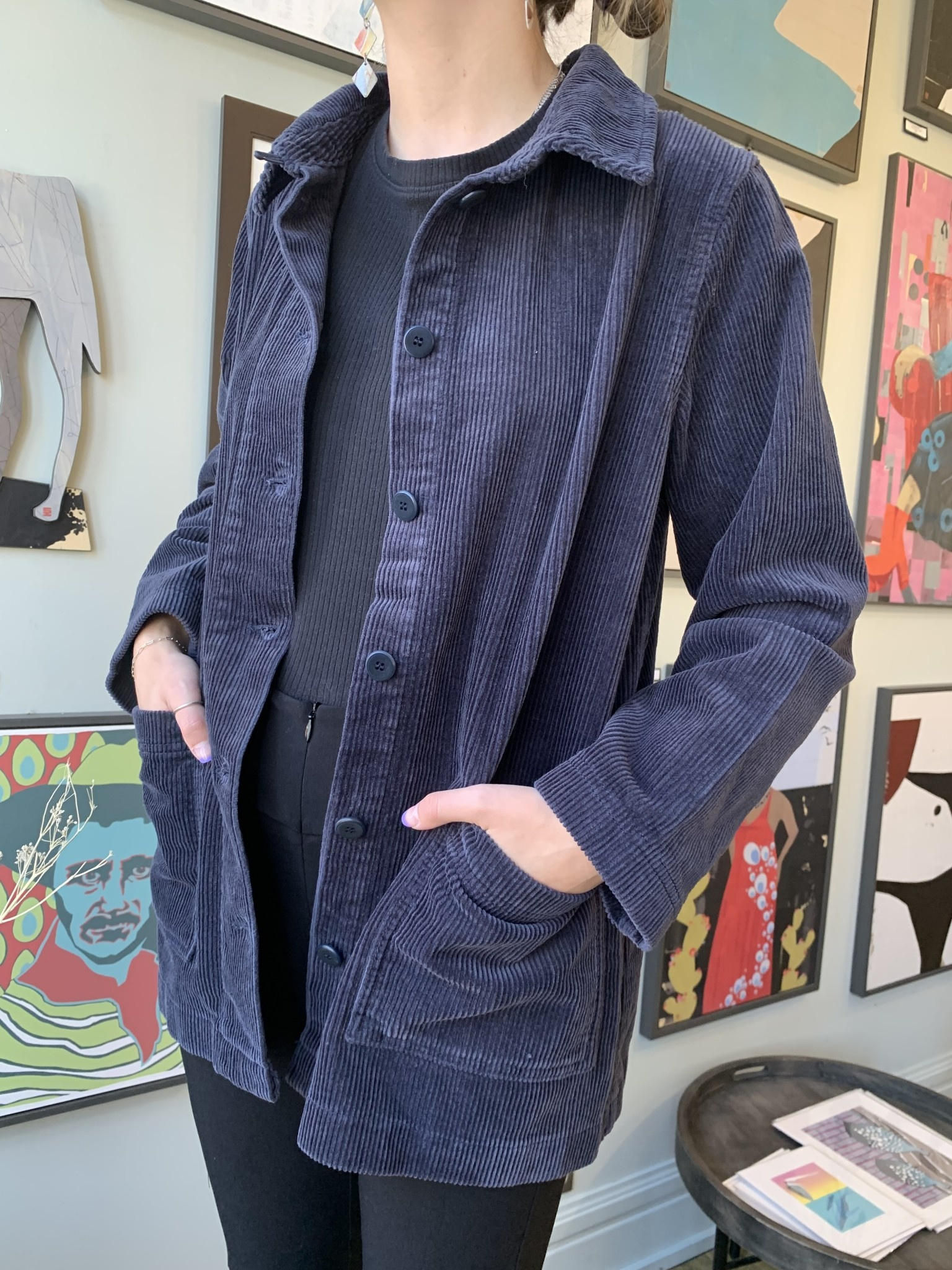 Two Danes Two Danes-Top-Clare Jacket