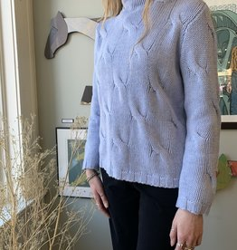 Alashan Cashmere Co Alashan-Sweater-Merino Cable Pullover