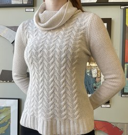 Kinross Cashmere Kinross-Sweater-Luxe Cable Cowl
