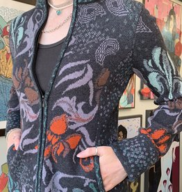 IVKO Women IVKO-Top-Jacquard Jacket w/ Embroidery