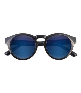SKYLINE SUNGLASS BLACK GLOSS (BLUE ION).