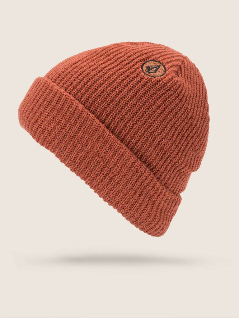 04d36c23540 VOLCOM SWEEP LINED BEANIE BURNT ORANGE. Press tab to enlarge