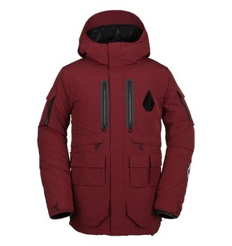 VOLCOM LYNX INS JACKET BURNT RED