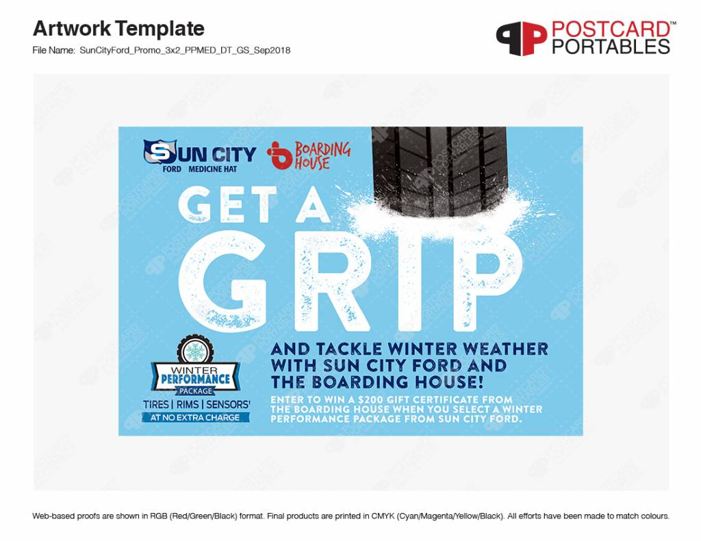 Get a Grip and Tackle Winter Weather with Sun City Ford and The Boarding House!
