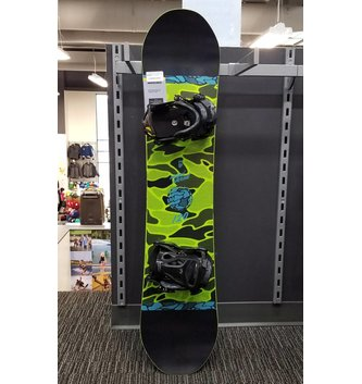 ROME SNOWBOARDS 19 MINI SHRED 120 W/ BINDINGS
