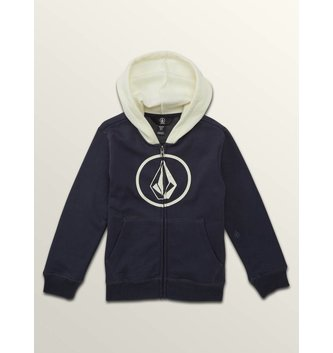 VOLCOM STONE ZIP MIDNIGHT BLUE
