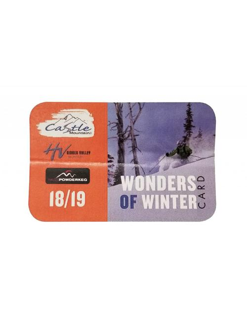 18/19 Castle Mountain Card