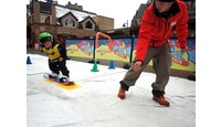 Beginner Snowboarding for Kids