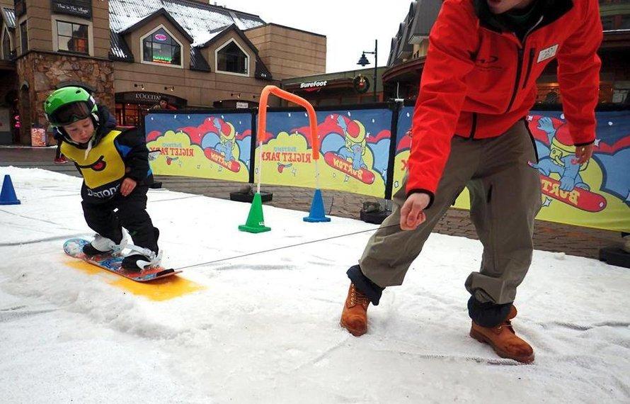 Beginner Snowboarding for Kids