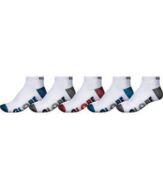 multi stripe ankle sock 5 pack