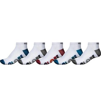 GLOBE FOOTWEAR multi stripe ankle sock 5 pack