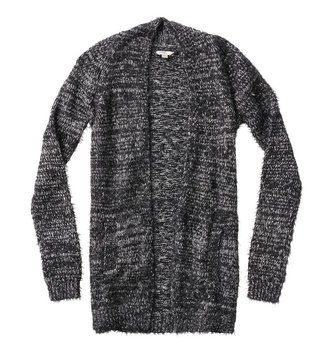 SILVER JEANS L/S SWT CARDIGAN YTH