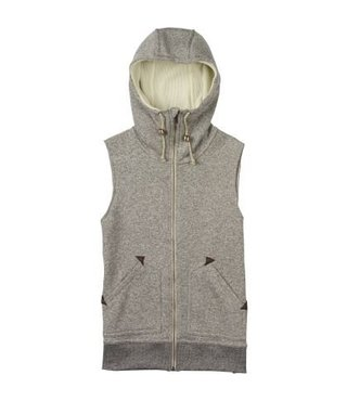 WB STARR VEST DOVE HEATHER (S)