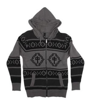 RDS ZIP SWEATER EGYPTIAN