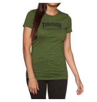 THRASHER MAGAZINE GIRLS SKATE MAG TEE
