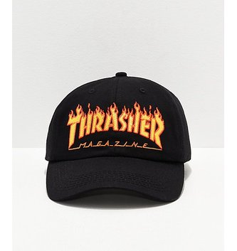 THRASHER MAGAZINE FLAME OLD TIMER HAT
