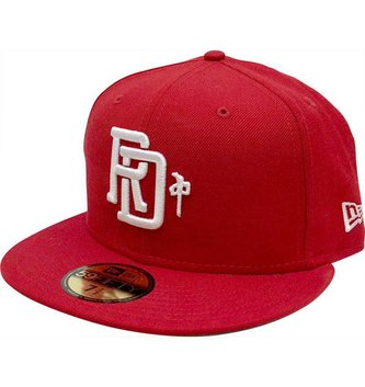 Red Dragon Apparel RDS NEW ERA HAT MONOGRAM RED/WHITE 7 1/2