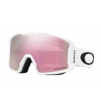OAKLEY LINE MINER XM Matte White W/ Prizm Snow HI Pink Ir