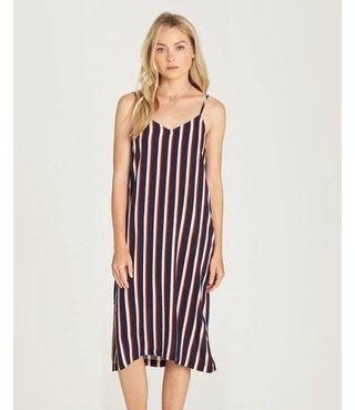 Bobby Striped Midi Dress