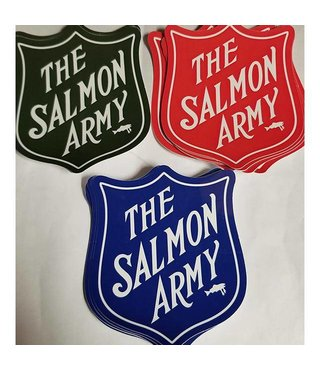 SALMON ARMY STICKER