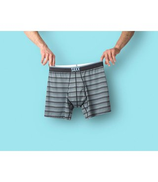 QUEST BOXER BRIEF FLY - DAYBREAK STRIPE