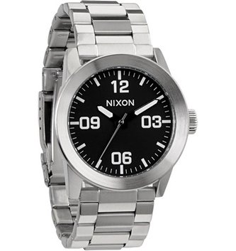 NIXON WATCHES PRIVATE SS: BLACK