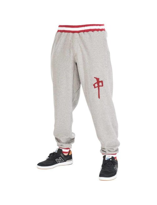 Red Dragon Apparel RDS SWEATPANT HARDBALL - Heather Grey/Red