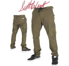 RDS CARGO PANT SCOOTER - Army Green