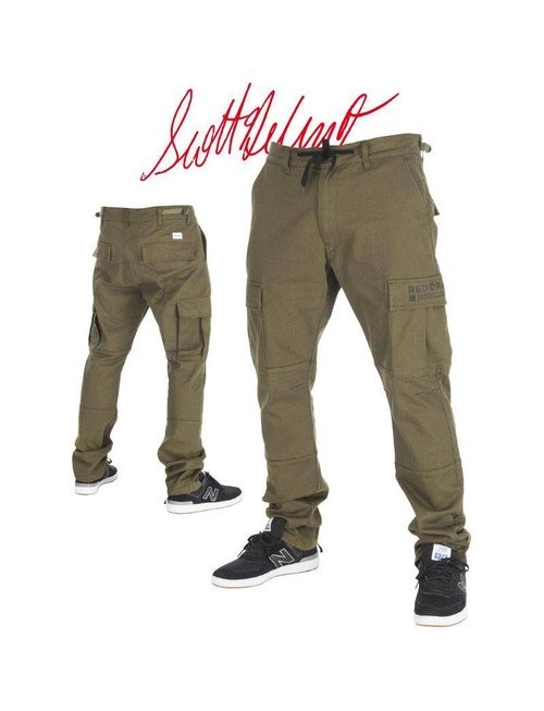 Red Dragon Apparel RDS CARGO PANT SCOOTER - Army Green