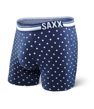 3SIX FIVE BOXER - Navy Polka Dot