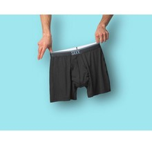 QUEST 2.0 BOXER WITH FLY - Black
