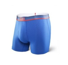 QUEST 2.0 BOXER WITH FLY - Royal Ombre Stripe
