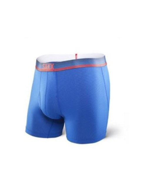 SAXX UNDERWEAR QUEST 2.0 BOXER WITH FLY - Royal Ombre Stripe