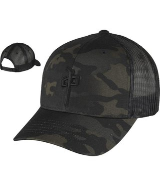 RDS TRUCKER HAT OG PUFFY - Black/Camo