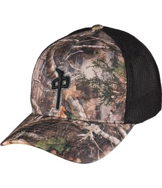 RDS TRUCKER HAT SP HYBRID - True Timber/Black