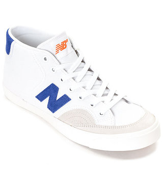 NB NUMERIC SHOES 213 - White/Royal/Orange