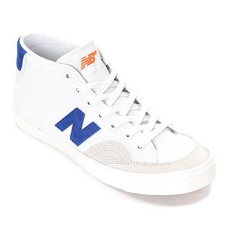 NEW BALANCE NB NUMERIC SHOES 213 - White/Royal/Orange
