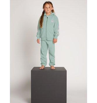 VOLCOM Little Girls Zippety Zip Sweatshirt - Mint