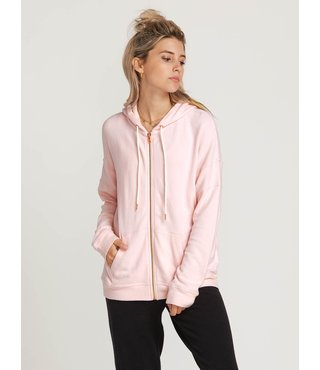 Lived In Lounge Zip Hoodie - Blush Pink