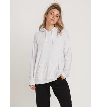VOLCOM Lived In Lounge Pullover Hoodie - Light Grey