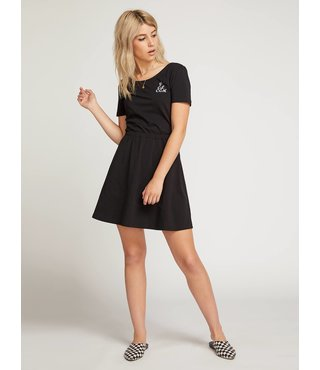 Animal Hour Dress - Black