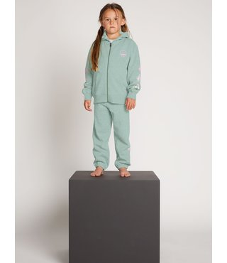 Little Girls Vol Stone Fleece Pants - Mint
