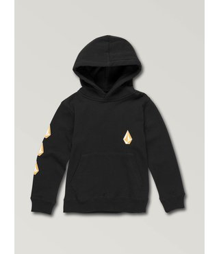 Little Boys Deadly Stone Pullover Hoodie - Black