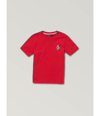 Little Boys Deadly Stone Short Sleeve Tee - True Red